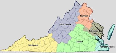Virginia-Map